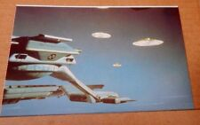 Postcard Captain Scarlet & The mysterons Cloudbase & Mysterons unposted