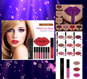 25 Colour Lipstick Long Lasting Matte 24 Hours Waterproof Liquid Lips Makeup