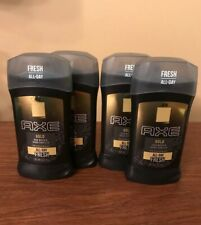 4 Axe Gold Oud Wood Dark Vanilla Deodorant 3 oz Solid  Antiperspirant