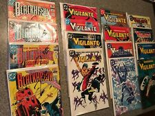 LOT of 16 - Blackhawk / Vigilante (1,2,...)  DC Comics 252/254/19/2/13/14 ++