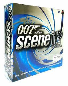 007 Edition Scene It? TV Show Trivia DVD Board Game - New & Sealed