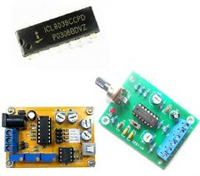 Dc 12v 25v Icl8038 Dds Signal Generator Module Sine Square Triangle Wave Output