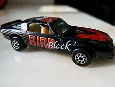 BLACKBIRD 1977 or 78 PONTIAC FIREBIRD TRANS AM BLACK w Tan Interior T Tops RARE