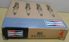Lot / Box of 4 Champion Copper Plus Spark Plugs 404 RN12YC