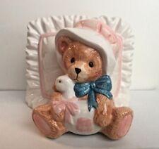 Cherished Teddies~Napkin Holder~Teddy Bear~114693~(1994)~Nib~