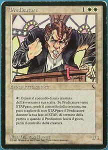 Preacher The Dark (ITALIAN) PLD White Rare MAGIC MTG CARD (ID# 190115) ABUGames