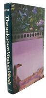 Roger Poole THE UNKNOWN VIRGINIA WOOLF  1st Edition 1st Printing