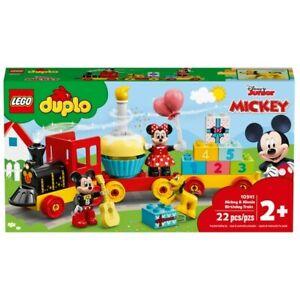 LEGO 10941 DUPLO Disney Mickey & Minnie Birthday Train 22 Pieces Age 2 Years+