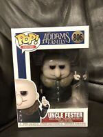 Funko Pop! 2019 The Addams Family - Uncle Fester Vinyl Figure 806 In Hand UK