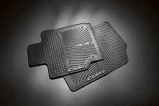 2007-2011 CAMRY FRONT ALL WEATHER RUBBER FLOOR MATS BLACK 2PC SET GENUINE TOYOTA