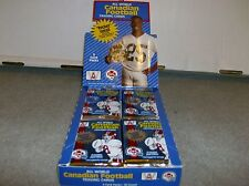 1X 1991 All World CFL Football PACK : Bulk Lot Available : Ismail True Rookie