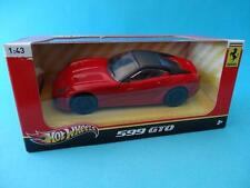 FERRARI 599 GTO - MATTEL HERITAGE - ROJO/RED/ROSSO - 1/43 NEW HOT WHEELS X5535