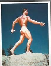 LARRY SCOTT Posing Bareback Bodybuilding Muscle Fitness Photo Color 1960s