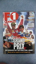 F1 Racing Magazine for the Month of March 1997. Excellent Condition.