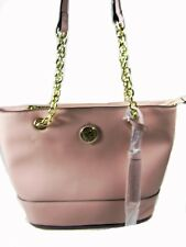"ANNE KLEIN ""Show Off"" PINK BLUSH SATCHEL Bag Women's Purse Shoulder Bag NWT"