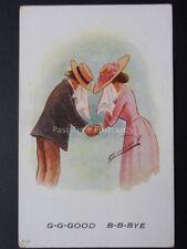 Cynicus: Love & Romance, G-G-GOOD B-B-BYE..... c1906 by Cynicus