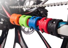 4pcs Bicycle Bike Frame Chain stay Protector Chain Guard Bash Guards Rubber ring