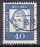 BRD 1961 Mi. Nr. 355 Fl. P. Gestempelt LUXUS!!!