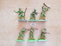 Britains Deetail WW2 American Infantry (lot 3369)