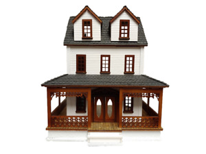 Southern Country Cottage Dolls House 1:48 Quarter Inch Laser Cut Flat Pack Kit