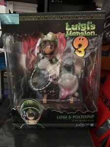 First 4 Figures Luigi's Mansion 3: Luigi Et Polterpup 23cm Figurine en PVC