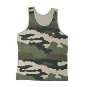 Débardeur militaire camouflage OPEX sérigraphié Légion Étrangère - Taille S / 88