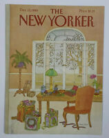 COVER ONLY ~ The New Yorker Magazine, December 22, 1980 ~ Jenni Oliver