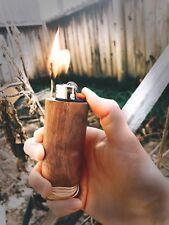 Bic Lighter Walnut Case Hemplight Hempwick Fits Bic Lighter Standard Size