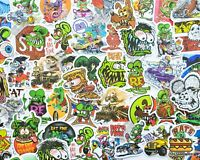 "50 pcs ""Rat Fink"" Sticker Pack Rat Rod Ed Roth Kustom Kulture Hot Rod Decals"