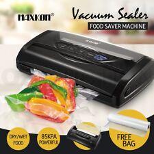 Maxkon Vacuum Sealer Machine Food Storage Packaging Saver Heat w/Free Bag Roll