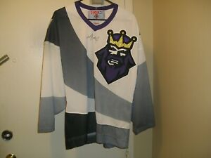 Wayne Gretzky Signed Auto COA NHL LA Kings Burger King CCM Hockey Jersey Medium