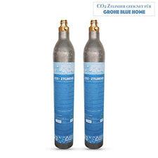 2 x CO2 Zylinder geeignet für Grohe Blue Home , Soda Stream Wassersprudler etc.