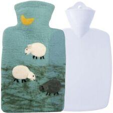 Hugo Frosch Hot Water Bottle100 Wool Cover Sheep 1.8l