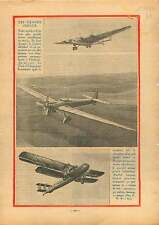 Aircraft Junkers G-38 Germany /Handley Page H.P.42 Hannibal UK 1931 ILLUSTRATION