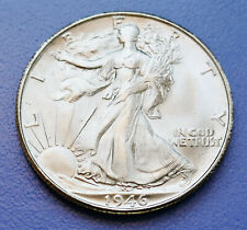 1946-S U.S. WALKING LIBERTY SILVER HALF DOLLAR ~ CHOICE UNCIRCULATED CONDITION