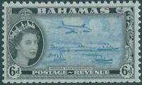 Bahamas 1954 SG208 6d Transportation QEII MNH
