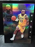 2019-20 PANINI NBA ILLUSIONS LEBRON JAMES BASKETBALL CARD # 20