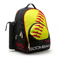 Boombah Tyro Softball Bat Gear Bag Pack/Backpack - Holds 2 Bats - Black/Red