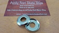 Skateboard Kingpin Top Bushing Washers 23mm - Set of 2 - FREE DELIVERY