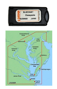 Garmin BlueChart Chesapeake MUS006R Data Card Marine Chart 010-C0020-00