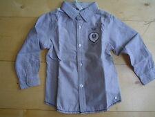 So 15 PAGLIE chemise, gris rayé taille 92
