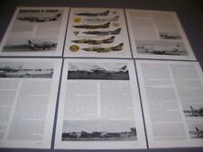 VINTAGE..FIAT G.91..COLOR PROFILES/DETAILS/PHOTOS..RARE! (985E)