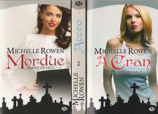 SARAH DEARLY tomes 1 à 3 Michelle ROWEN roman Urban Fantasy Milady bit-lit