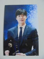 Lee Min Ho Korean Actor Signed 4x6 Photo Autograph hand signed USA Seller 13