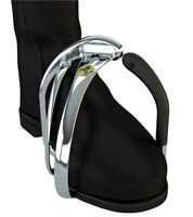 STS Irons 4.75 Innovated Tech ENGLISH Stirrups Angled Foot Flexible Post Aluminm