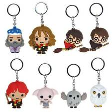 Harry Potter Chibi Metal Keyring Rubber Character Collectible Keychain Gift 2019