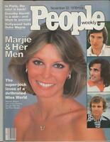 People Weekly Magazine November 22 1976 Marjorie Wallace Jimmy Connors