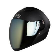 Steelbird Air Sba-2 Full Face Motorcycle Matt Black Helmet with Extra visor-L