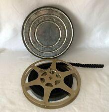 """Vintage 60's 16mm 7"""", Cine Film TEST FILM UK Colchester v Broxbourne Football"""