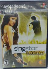 SingStar: Legends (Sony PlayStation 2, 2008) FREE SHIPPING WITHIN CANADA
